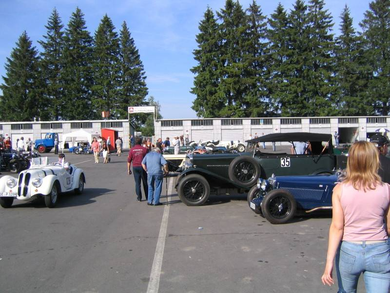 The original Nurburgring paddock
